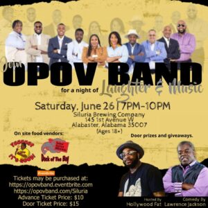 OPOV Band at Siluria Brewery June 26, 2021